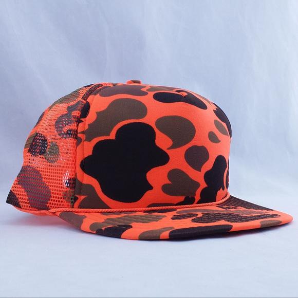 bf7e8eb9a5b Cobra Caps Other - Cobra Caps Blaze Orange Camo Hat